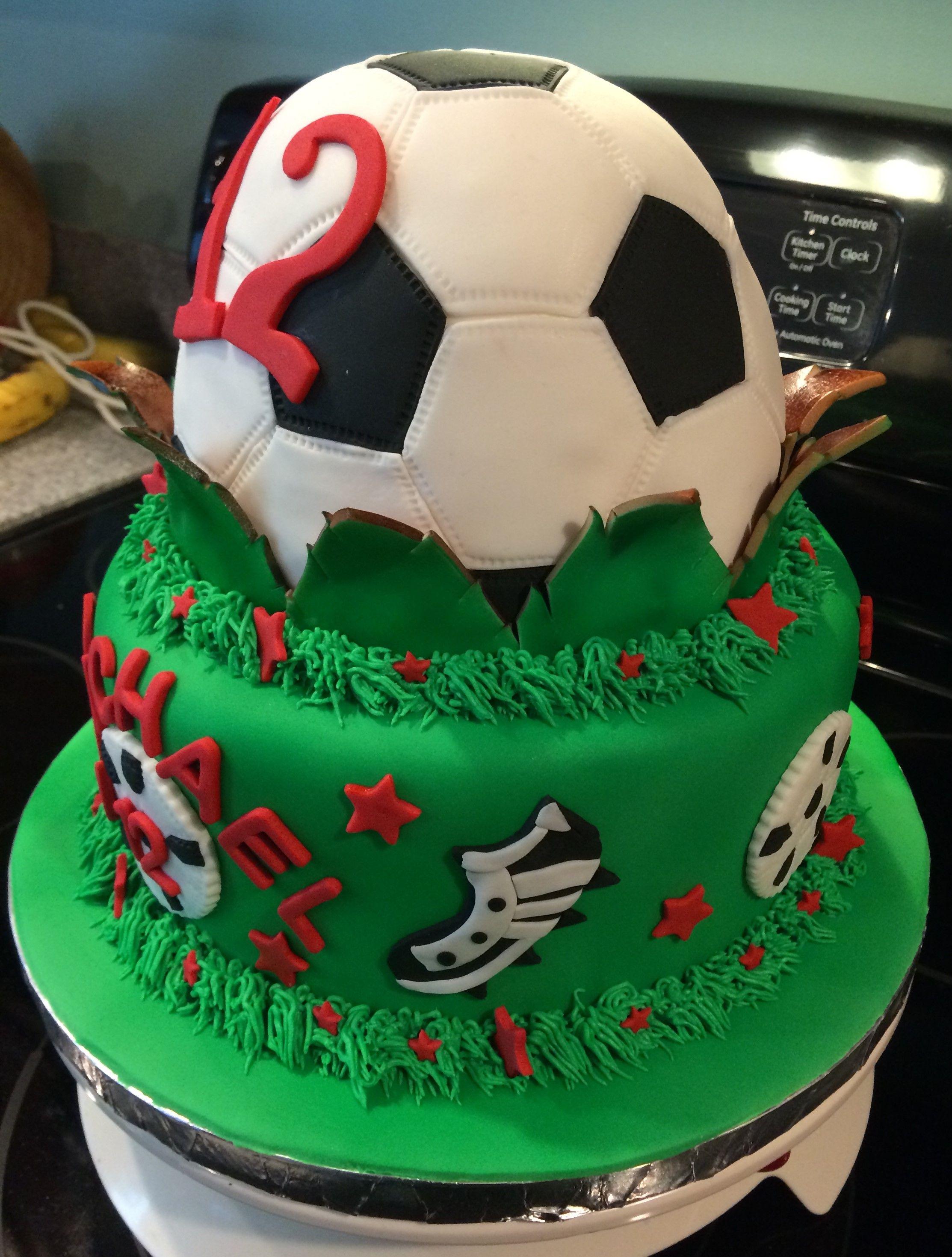 soccer ball cake side                                                       …