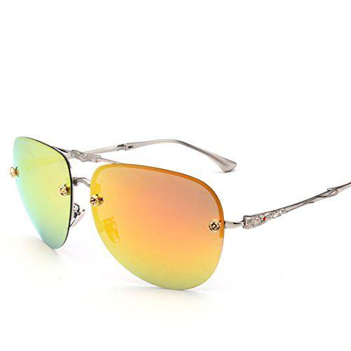 7e52e4ef3fc7 LOMEDO Vogue Folding Polarized Aviator Sun Glasses for Women Tinted Mirror  Lens UV400