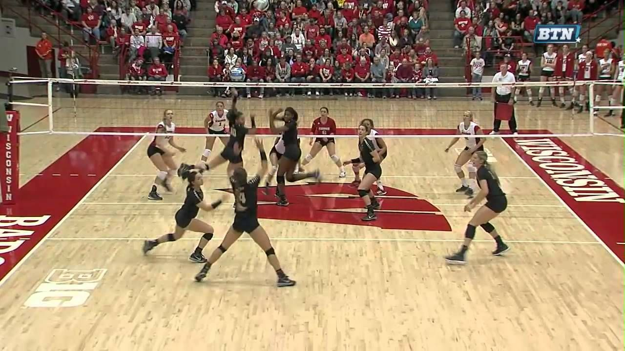 Purdue At Wisconsin Women S Volleyball Highlights Women Volleyball Volleyball Volleyball News