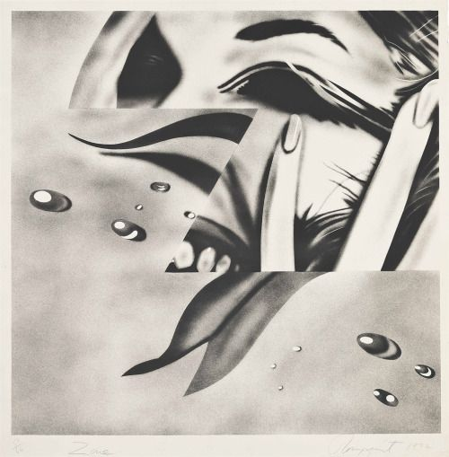 James Rosenquist (American, b. 1933), Zone, 1972. Lithograph in colours on wove paper, image: 715 x 724 mm., sheet: 785 x 770 mm. Number 51/66 +10 AP.