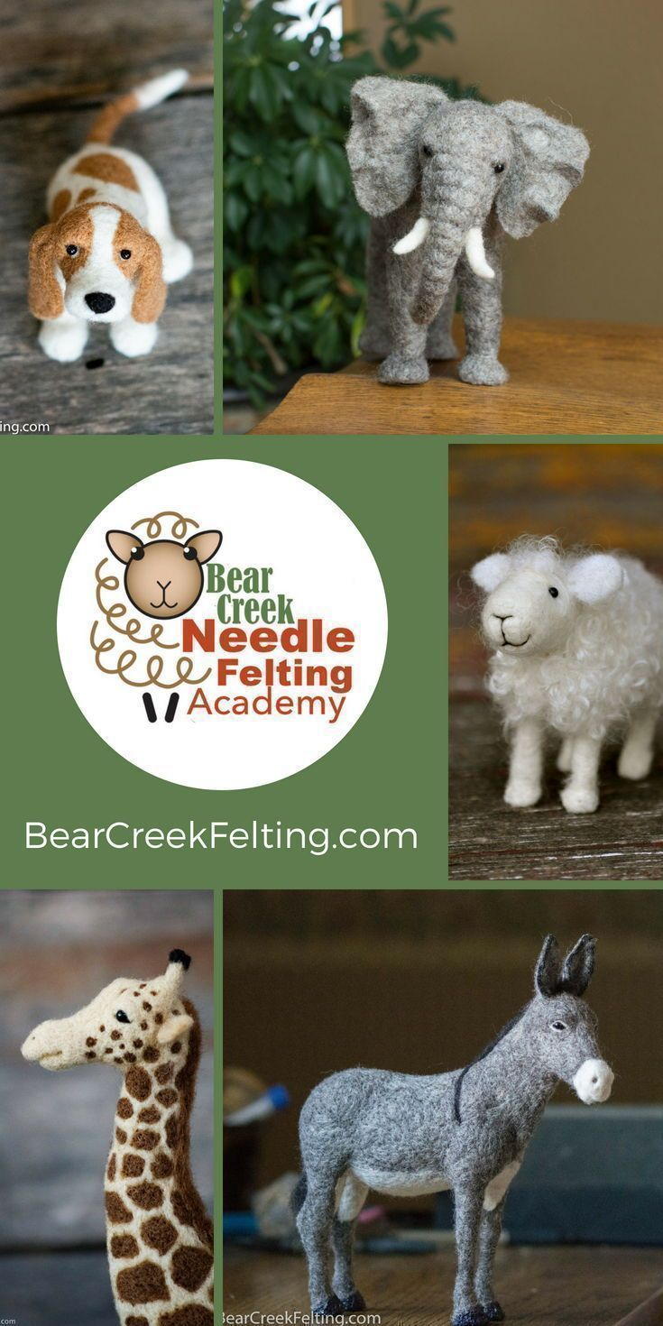 Bear Creek Needle Felting Academy