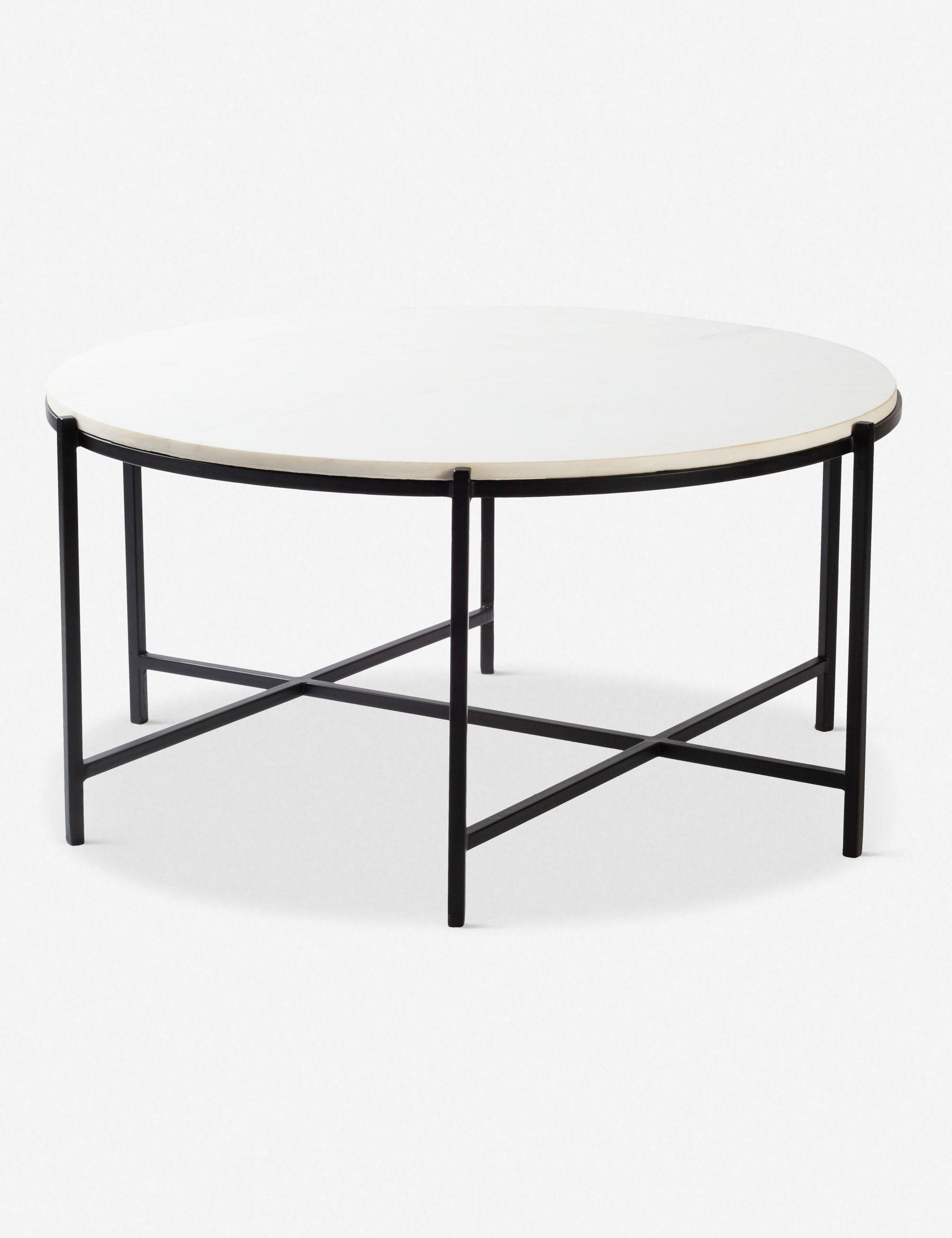Berdina Round Coffee Table Coffee Table Marble Top Coffee Table Coffee Table White [ 2600 x 2000 Pixel ]