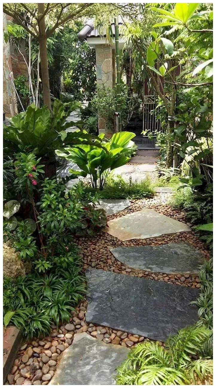 Photo of ✔ 80 beauty garden paths and walkways ideas to increase your garden beauty 41 : solnet-sy.com