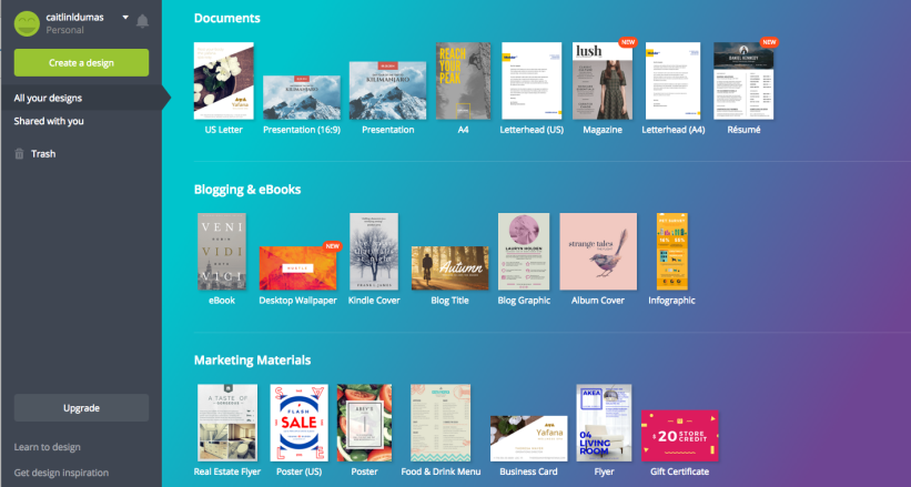 7 design tools everyone can use {for free}