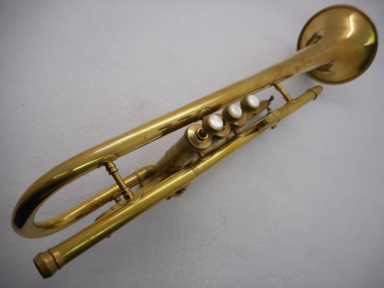 1940's C G  Conn LTD  USA Elkhart -IND 22 B Trumpet