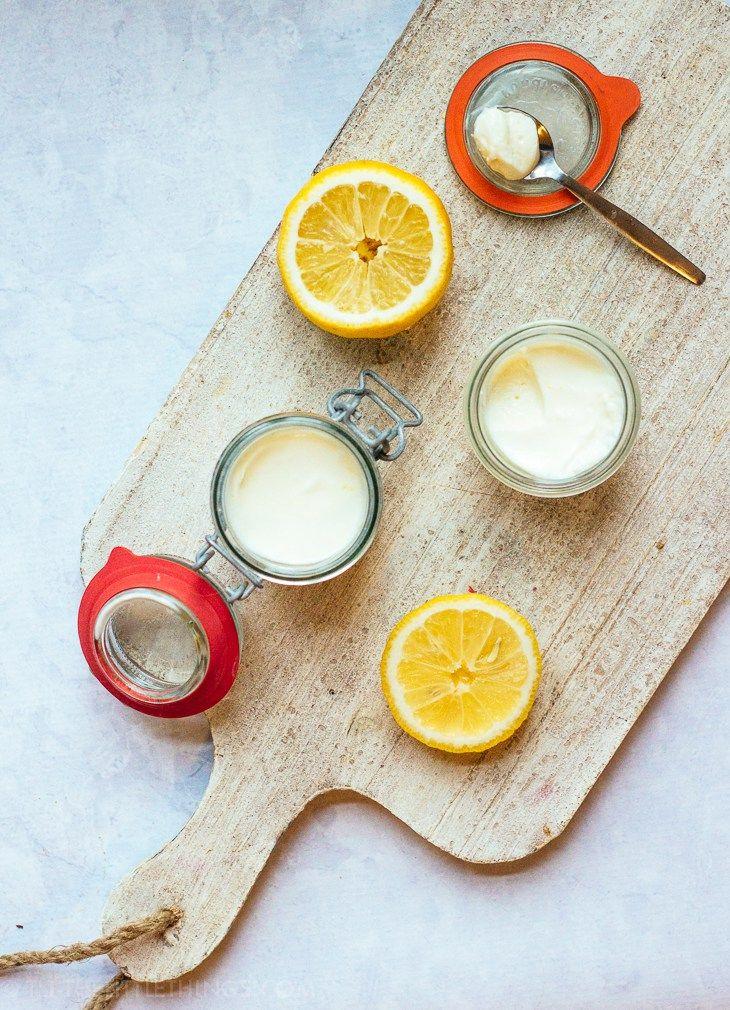 - Lemon Mousse -