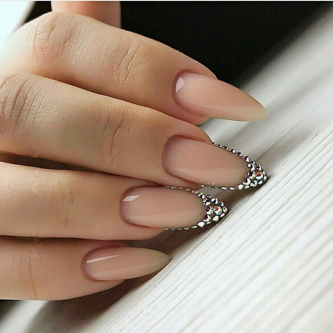 mountain peak nail shape - Nail Shapes 2018: New Trends And Designs Of Different Nail Shapes