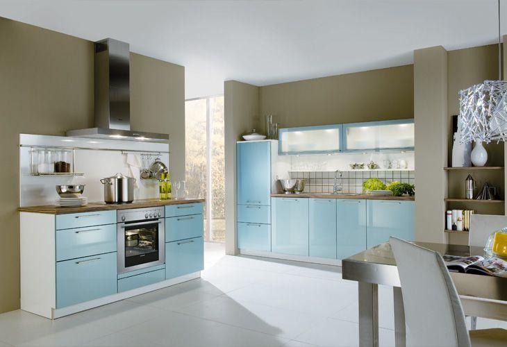 Küche Hellblau küche in hellblau singleküche dyk360 kuechen de hellblaue