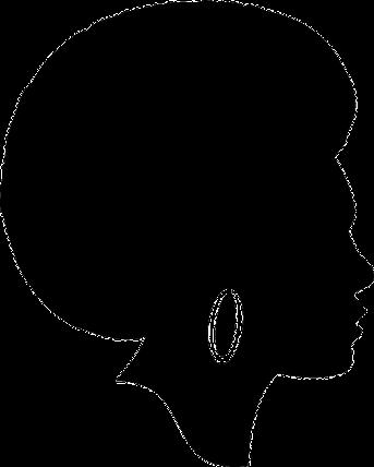 Resultado De Imagen Para Silhueta Mulher Afro Black Woman Silhouette Silhouette Art Woman Silhouette