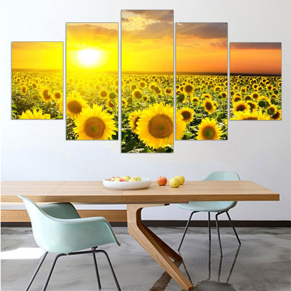 $0 - Cool Customizable box sun sunflower hope painting canvas print ...