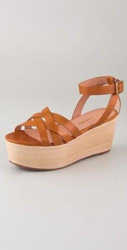 Pour La Victoire Platform Sandals.