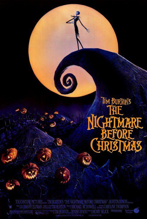 The Nightmare Before Christmas , starring Danny Elfman, Chris ...