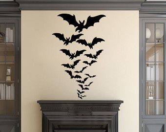 halloween wall decals u2013 etsy