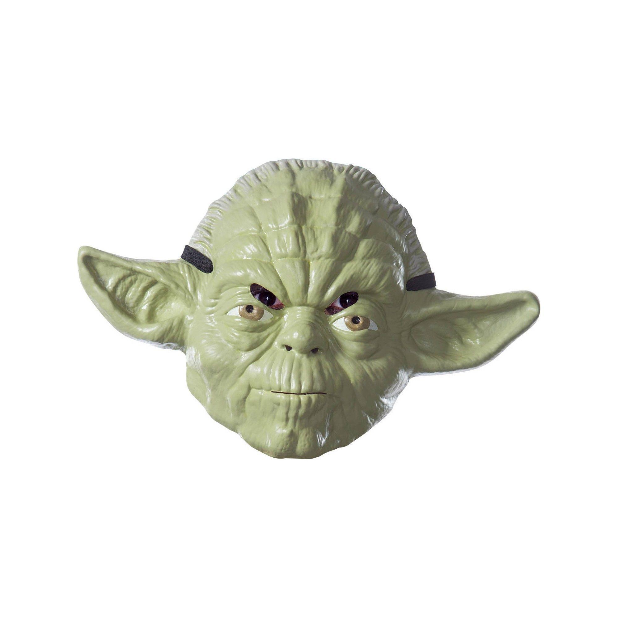 Yoda Mask Adult Star Wars Costume Halloween Fancy Dress