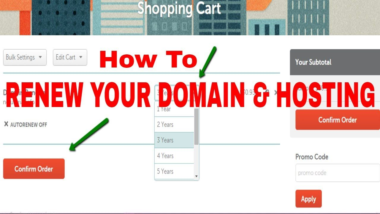 How To Renew Domain And Hosting From Namecheap Or Godaddy