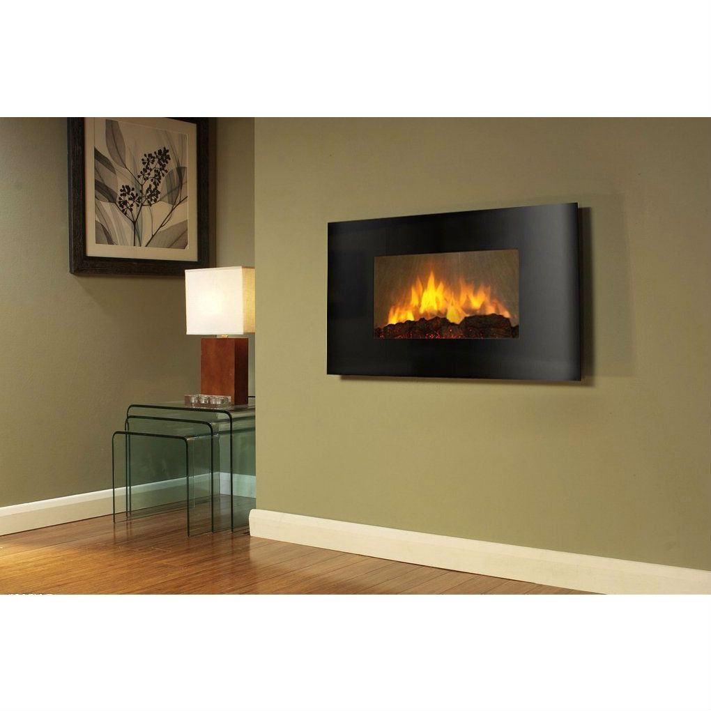 wall mount electric fireplace heater. Modern Wall Mounted Electric Fireplace Heater With Remote Control-Accents \u003e Fireplaces-Loluxe Mount