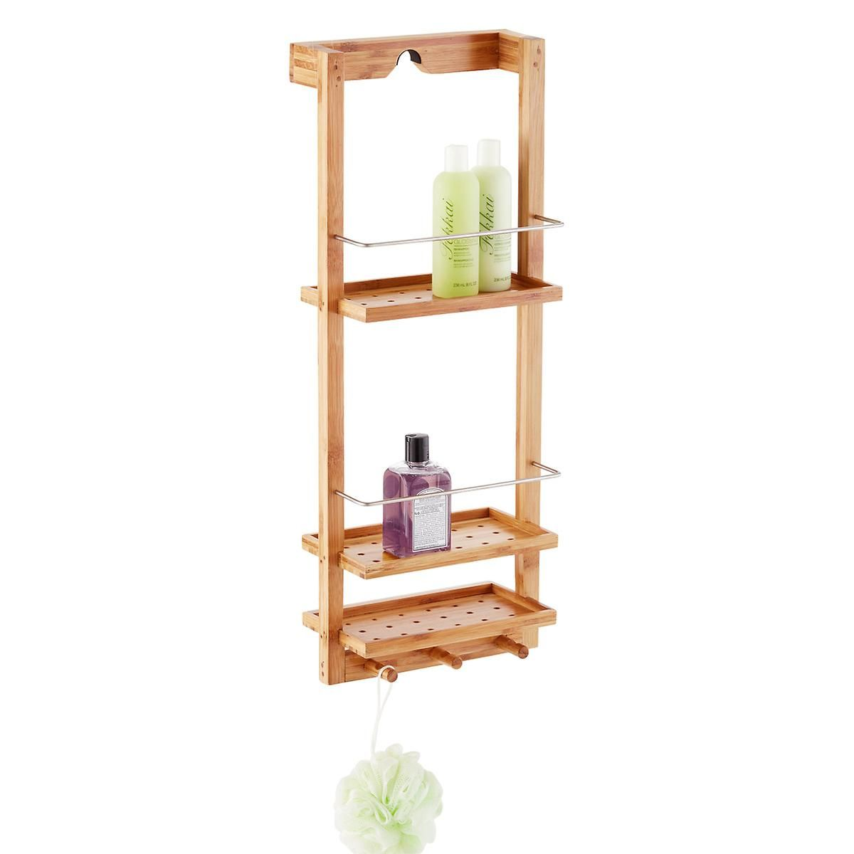 Zen 3-Tier Shower Caddy | The Container Store | Small Space Decor ...