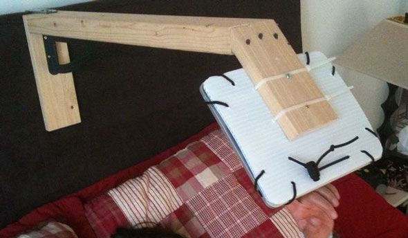 5 Awesome Diy Tablet Mounts For Bed Vote For The Best And We Ll