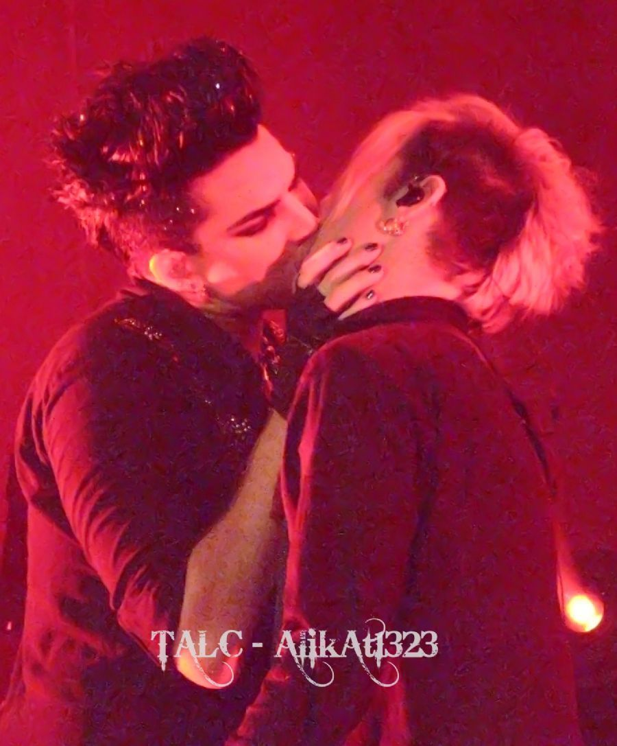 Adam And Tommy Joe Hotties In 2019 Adam Lambert Kiss Pop Idol