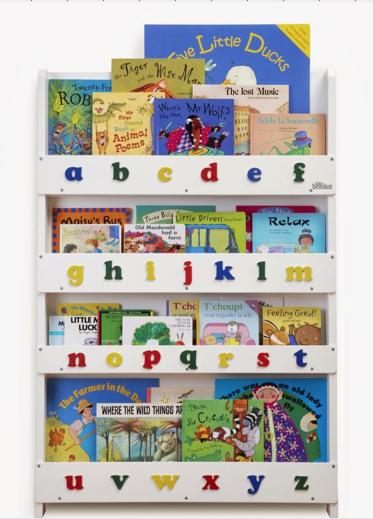 Librero de madera ni os pinterest libreros de madera - Estanteria libros infantil ...