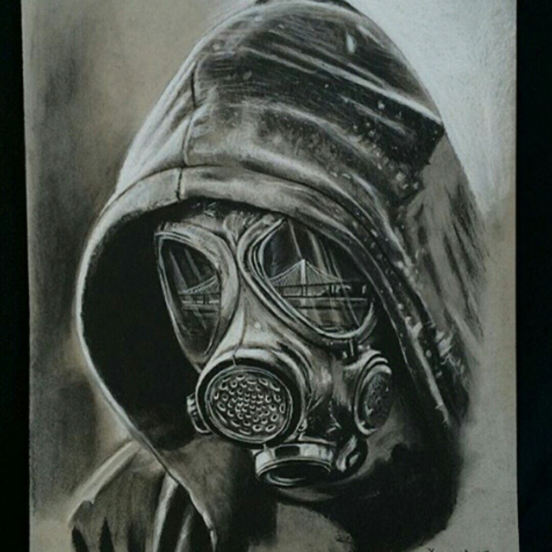 Pin by Robert Amaya on robs favs 2 | Pinterest | Tattoo ... Gas Mask Tattoo Sketch