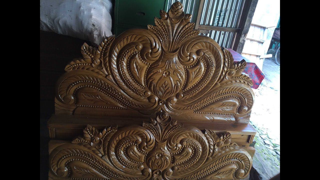 Latest Wooden Bed Designs 2016 Simple Pakistani Bed Designs In