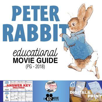 Peter Rabbit Movie Guide   Questions   Worksheet (PG - 2018)