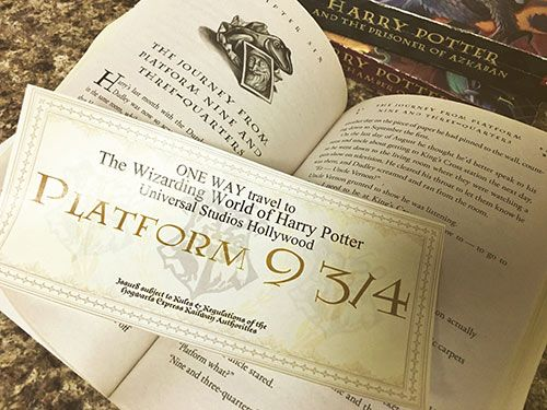 Free Harry Potter Vacation Announcement Printable Harry Potter Universal Studios Universal Studios Orlando Trip Universal Vacation