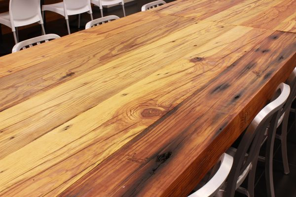 Delicieux Reclaimed Heartpine Table Top