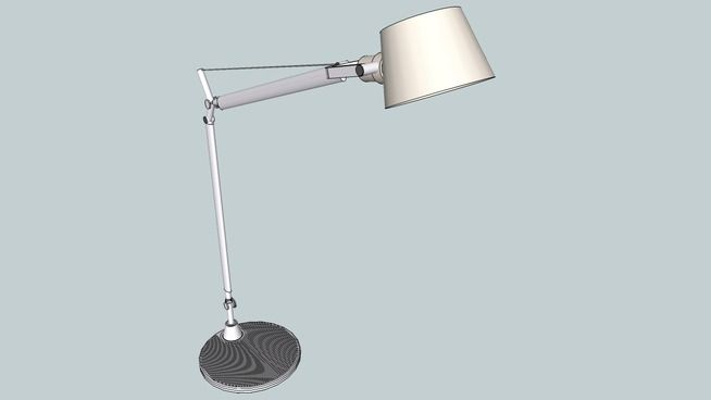 3d Warehouse View Model Lamp Artemide Tolomeo Artemide
