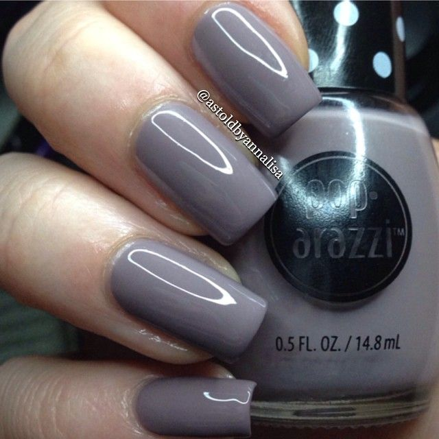 Simple swatch tonight of #poparazzi Mauvie Night, a new polish being ...
