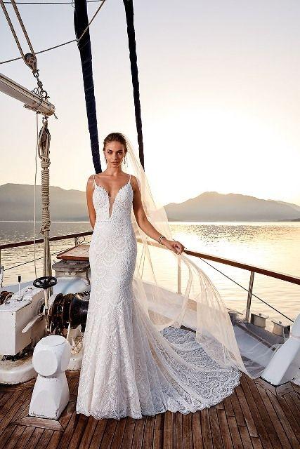 gefunden bei Happy Brautmoden Brautkleid elegant ...