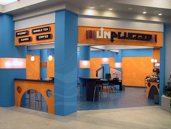 internet cafe interior Google Search a store Pinterest Interiors