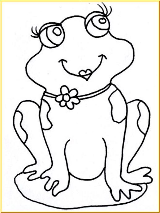 Rana animada para colorear - Imagui | dibujos infantiles ...