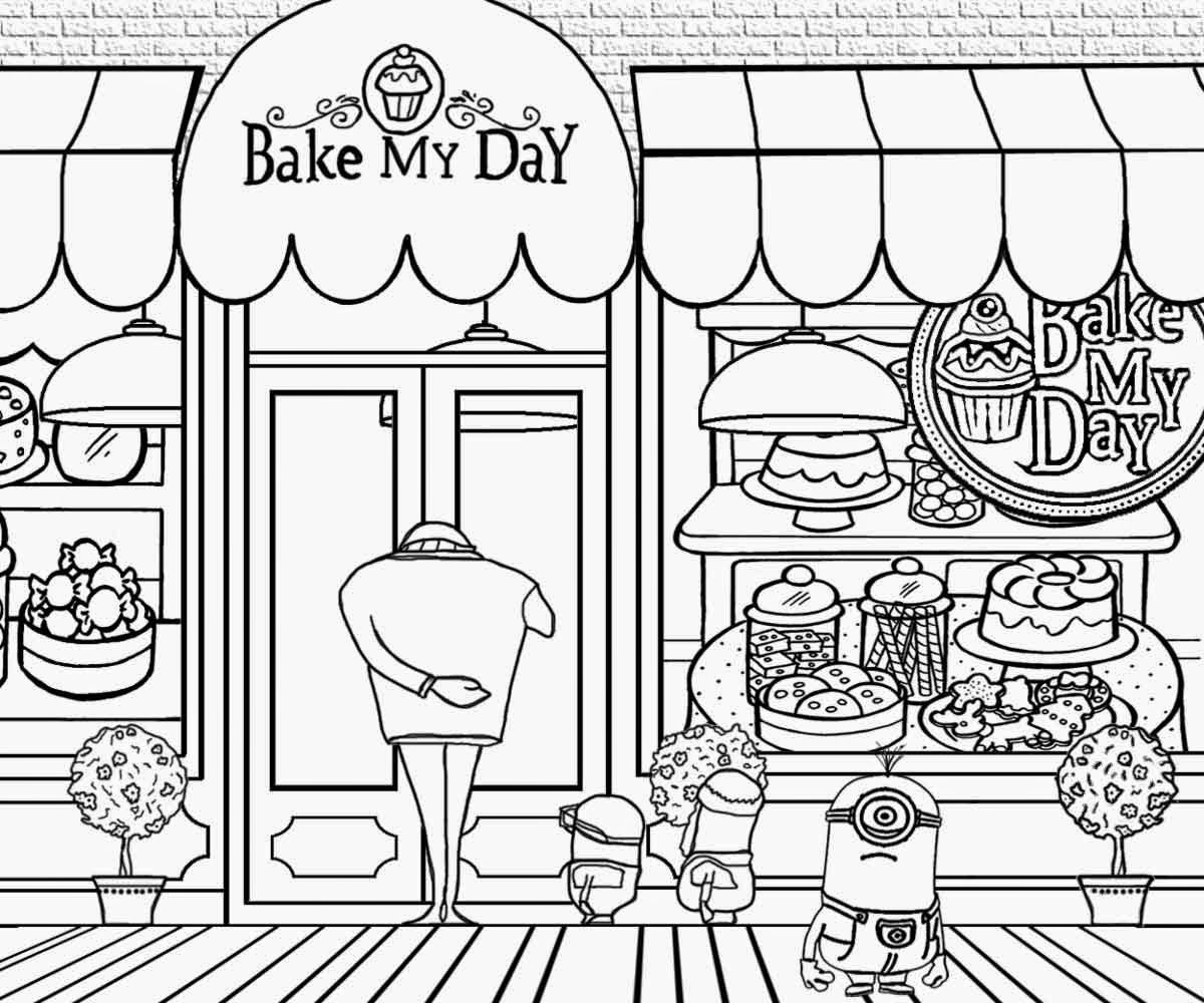 Grus Fun Art Activities Complex Clipart Family Minions Party Minion Cake Shop Coloring Pages To Draw Minion Coloring Pages Free Coloring Pages Coloring Pages