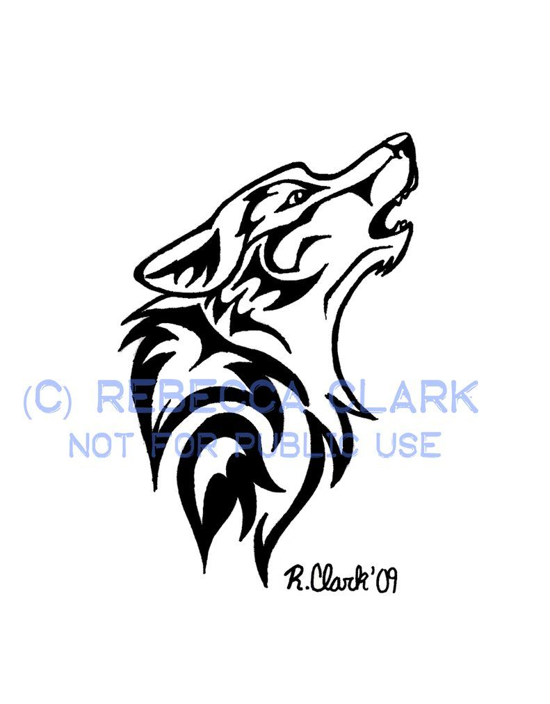 Howling Wolf Tattoo By Insaneroman On Deviantart Howling Wolf Tattoo Tribal Wolf Tattoo Wolf Dreamcatcher Tattoo
