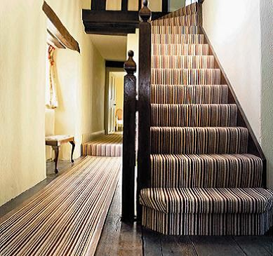 Best Striped Stairs Carpet Wowcarpets Com The Matching Runner 640 x 480