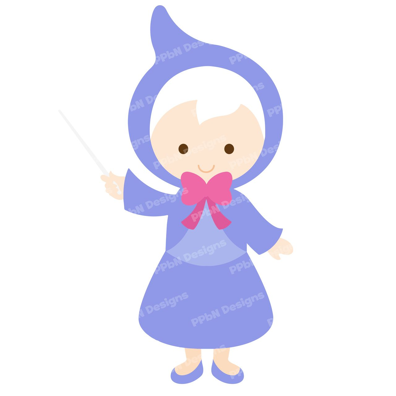 Fairy Godmother l SVG Cutting Files and Clipart | Minus ...