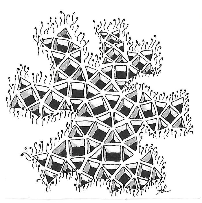 Muster Mixer #16 | Freude mit Zentangle