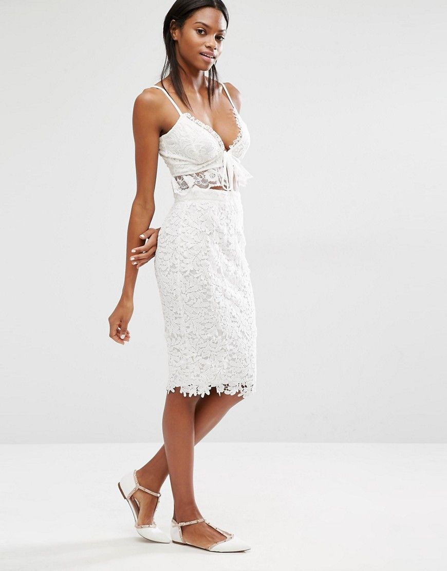 Missguided+Crochet+Lace+Midi+Skirt | shopping | Pinterest ...