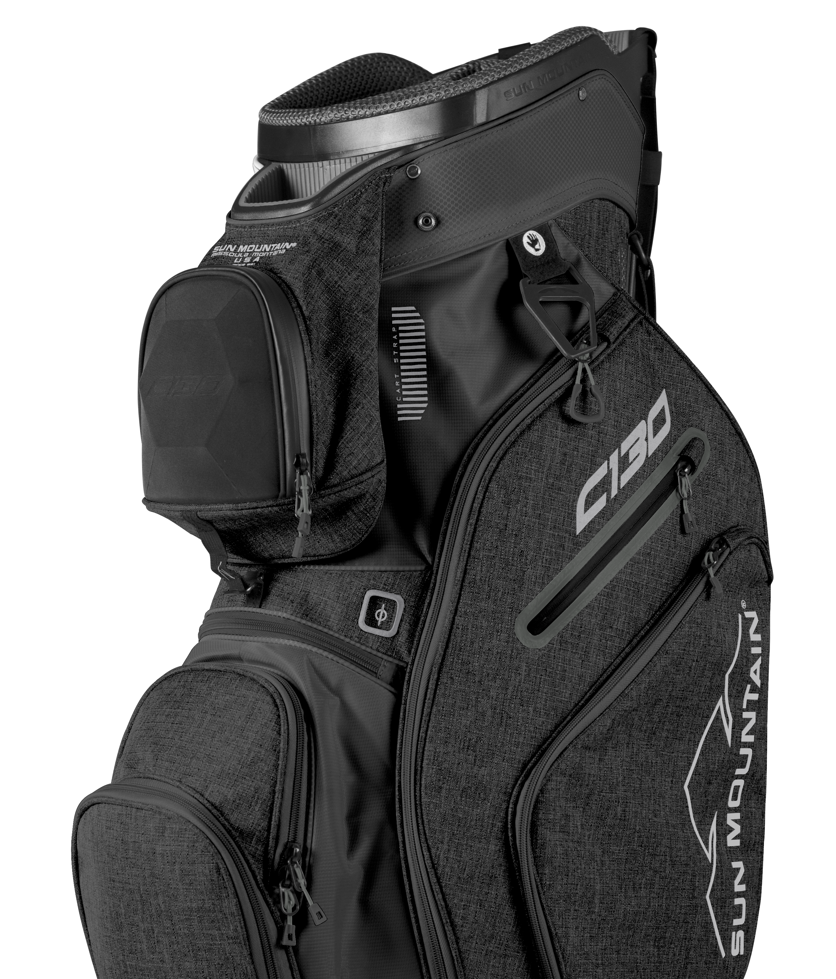 For Those Golfers Who Want A C 130 But Prefer A Top Without Individual Club Dividers Sun Mountain Offers The C 130 5 Way It Ha Golf Bags Golf Gifts Mens Golf