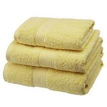 Sainsbury's Yellow Towel