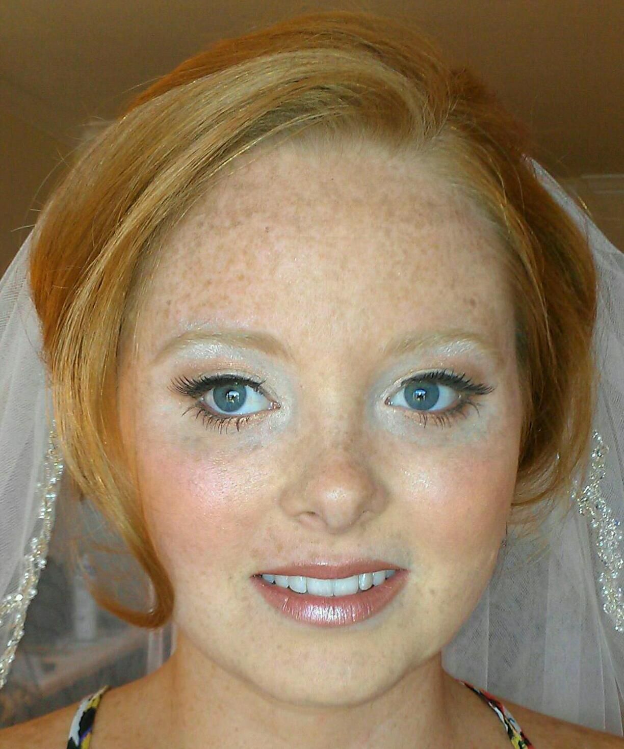 wedding trial hair & makeup by south florida makeup artistry