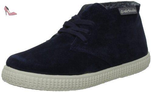 Victoria 106785, Desert boots mixte enfant, Noir (Negro), 30 EU