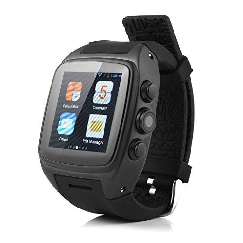 IMacwear M7 Unlocked Watch Cell Phone Android 422 OS MTK6572 Cortex A7 Dualcore 4GB ROMGSM WCDMA