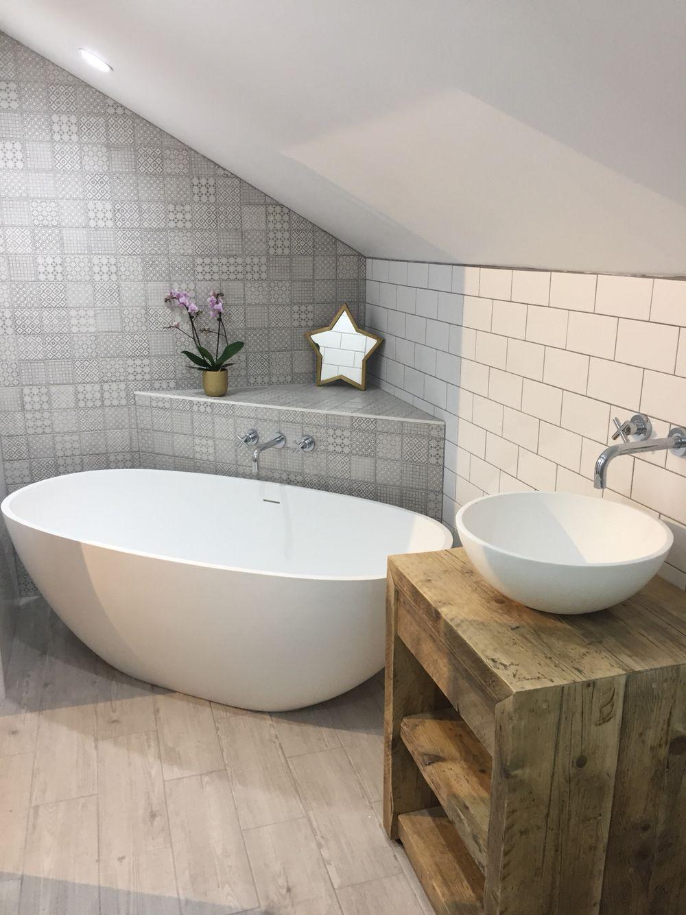 Ensuite Bathroom Fixtures en suite bathroom - lusso stone bath and basin | ensuite bathroom