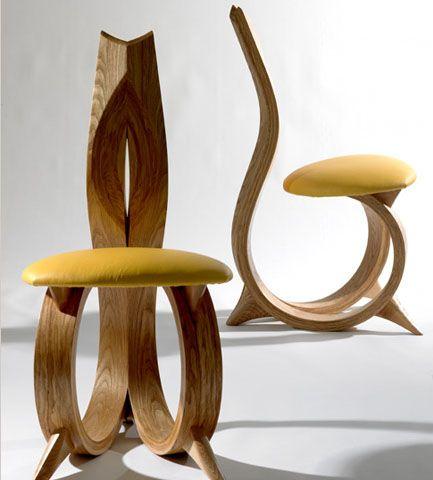 Muebles de madera de Joseph Walsh 8 Asientos Pinterest Muebles