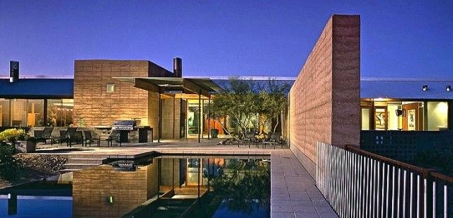 Carries design musings the rammed earth house