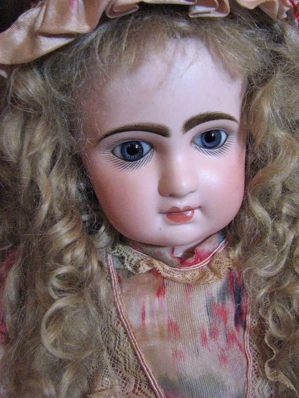 "Darling 15"" ED Jumeau made by Douillet management, 1892-1899.  From the collection of Victorian Retreat. #DollShopsUnited"