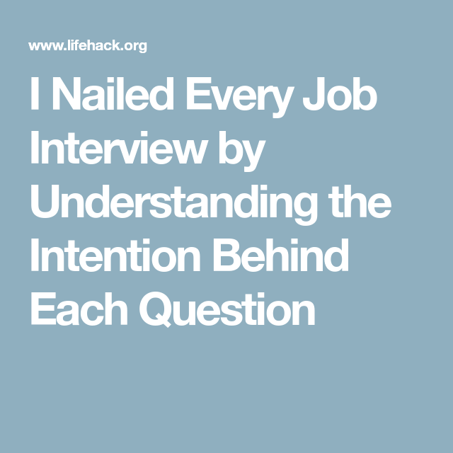 How to Answer Behavioral Interview Questions Smartly   Job ...